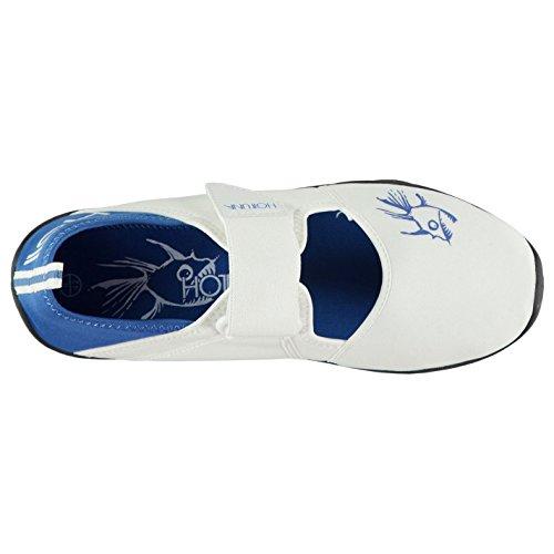 Aqua Hot Tuna Royal Hommes Chaussures Blanc C0q1d