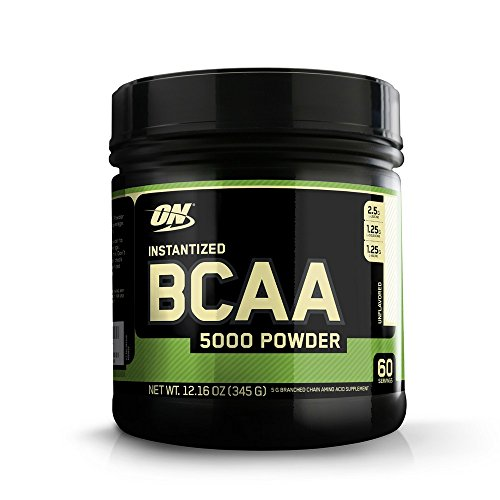 OPTIMUM NUTRITION Instantized BCAA Powder, Unflavored, Keto Friendly Branched Chain Essential Amino Acids Powder, 5000mg, 60 Servings
