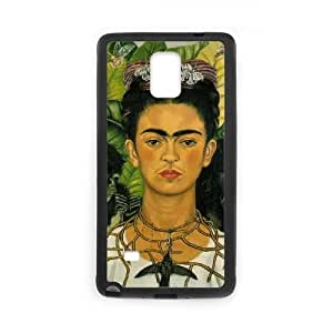 wugdiy DIY Protective Snap-on Hard Back Case Cover for Samsung Galaxy Note 4 with Frida kahlo