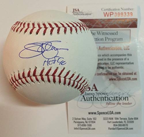 (JIM PALMER AUTOGRAPHED SIGNED INSCRIBED OML BASEBALL JSA COA)
