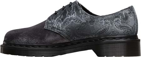Dr. Martens 1461 Velvet - Zapatos Mujer Gris