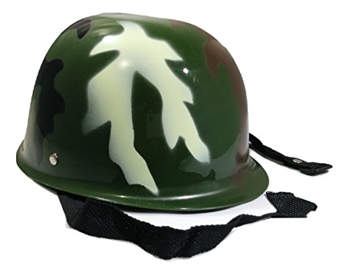 Nicky Bigs Novelties Child Toy Camouflage Army Helmet, Camo, One Size -