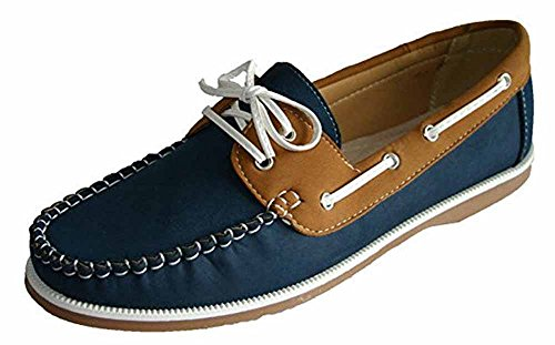 Footwear Sensation - Mocasines para mujer azul - Navy Tan