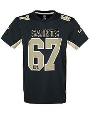 NFL New Orleans Saints T-shirt zwart
