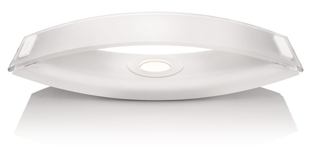 Philips InStyle LED-Tischleuchte Ponte 1-flammig dimmbar 6 W, weiß 373663116