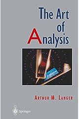 The Art of Analysis Hardcover