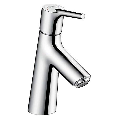chollos oferta descuentos barato Hansgrohe 72010000 Talis S grifo de lavabo 80 con vaciador automático cromo