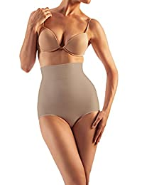 Farmacell Shape 601 High-Waisted Shaping Control Briefs with Flat Belly Effect