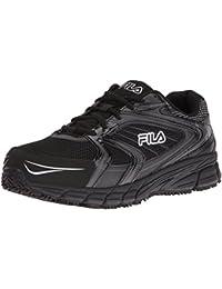 Men's Memory Reckoning 7 Work Slip Resistant Steel Toe Running Shoe