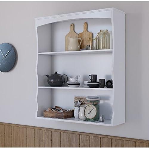 Kitchen Wall Mounted Shelves: Wall Mounted Shelves: Amazon.co.uk