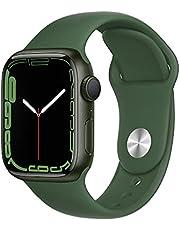 $399 » Apple Watch Series7 GPS, 41mm Green Aluminum Case with Clover Sport Band - Regular