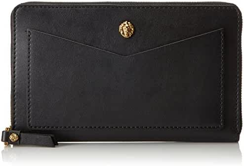Anne Klein V-Pocket Zip Around Wallet