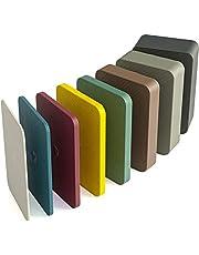 INNONEXXT® Premium onderlegplaten   60 x 40 mm   afstandhouder, plaatjes van kunststof   draagvermogen tot 5 t   set: 1.5, 2, 3, 4, 5, 10, 15, 20 mm