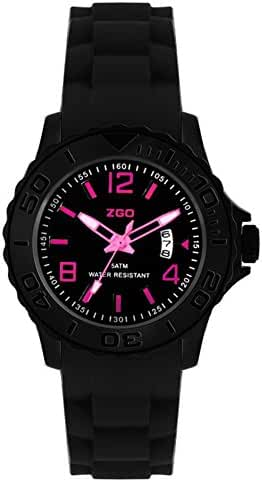 Korean adolescents luminous waterproof sport quartz watch-F