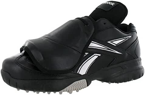 Reebok Men's Field Magistrate II Baseball Plate Shoe Low 4E Wide Black/White 8 4E US
