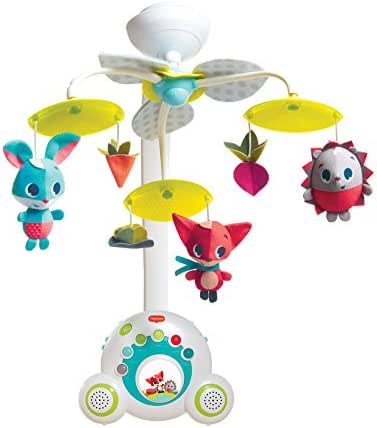 Tiny Love Meadow Days Soothe 'n Groove Baby Mobile