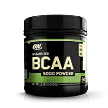OPTIMUM NUTRITION Instantized BCAA 5000 Powder, Unflavored 60 servings