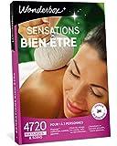 Wonderbox – Coffret cadeau femme - SENSATIONS BIEN-ETRE – 4720 massages, sauna, balnéothérapie