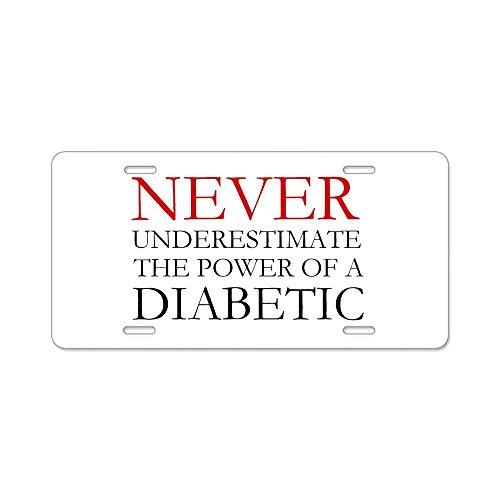 diabetes license plate frame - 8
