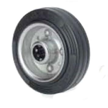 Alex bs - Aro rodillo 230kg 20x60 diámetro 200 goma negro: Amazon.es: Bricolaje y herramientas