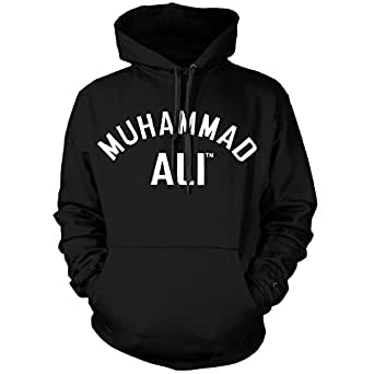 Hombre Muhammad Ali Muhammad Ali Black Clothing Hoodie Producto Oficial.