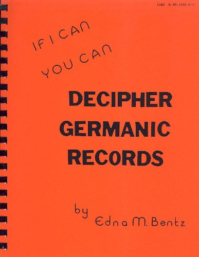 If I Can You Can Decipher Germanic Records ebook
