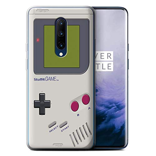 - eSwish Gel TPU Phone Case/Cover for OnePlus 7 Pro/Nintendo Game Boy Design/Games Console Collection