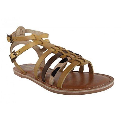 Sandales pour Fille MTNG 83512 NAPPA LEATHER BEIGE