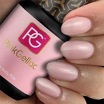 Uitgelezene Pink Gellac 122 Baby Pink Soak-Off UV/LED Gel - Amazon.com XK-39