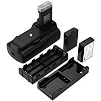 Powerextra Battery Grip + 2 × High Capacity 1600mAh LP-E10 Batteries With Infrared Remote Control for Canon EOS 1100D/1200D/1300D/T3/T5/T6 Digital SLR Camera