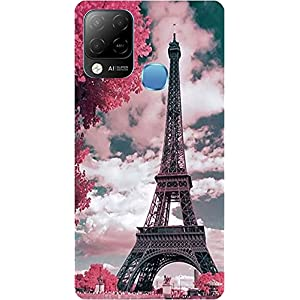 BuyFeb Back Cover Case Compatible for Infinix Hot 10s (Silicon Soft Printed Mobile Cover) – Design285