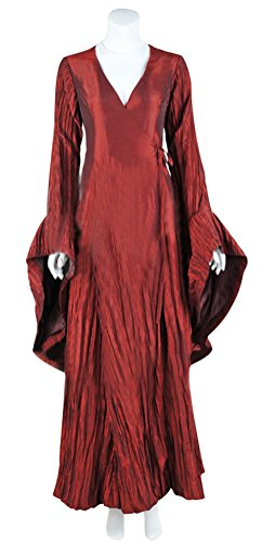 Witch Costume for Adult Women, Deluxe Halloween Cosplay Dress Masquerade Outfit (M)