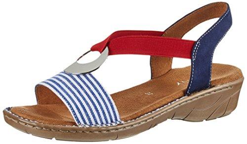 Jenny Damen Korsika-Iii Geschlossene Sandalen Blau (Navy, Blau)