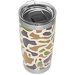 YETI Rambler 20 oz Stainless Steel Vacuum Insulated Tumbler w/MagSlider Lid, Camo