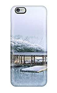 Tpu Case For Iphone 6 Plus With Snowing