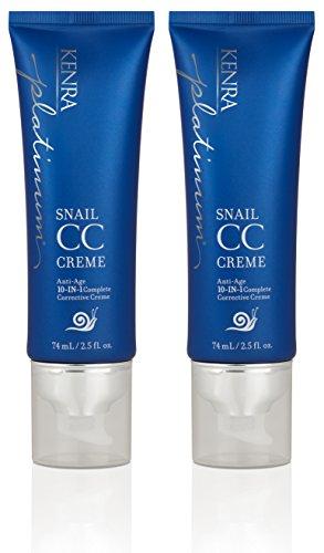 Kenra Platinum Snail CC Creme, 2.5-Ounce (2-Pack)
