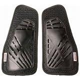 ラフアンドロード(ROUGH&ROAD) バイクジャケット用胸部プロテクター ハードチェストパッド ブラック フリー RR10074