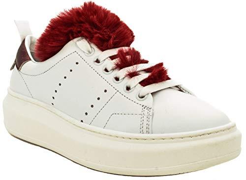 Gymnastique Bianco Stokton Chaussures Femme de EwEA8Sq