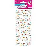Playhouse Rainbow Unicorns Sticker Sheets for Arts, Crafts & Collecting