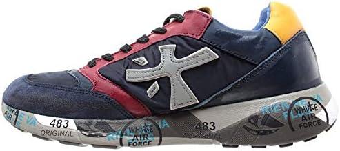 PREMIATA   Chaussure de Sport ZacZac 3545 pour Homme Bleu   PRE_ZACZAC_3545