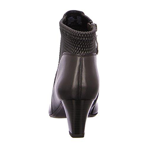 Gerry Weber Laura 2g39202mi844100para mujer Slip/con cremallera para mujer fría forro elegante base Black - Black