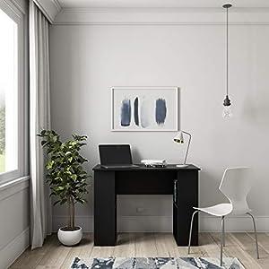 Solimo Amazon Brand Prize Engineered Wood Lap Desk black