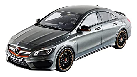 Amazon.com: Mercedes AMG Cla 45, metallic-grey, 0, Model Car ...