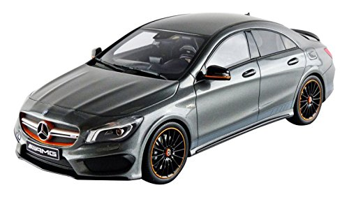 GT Spirit gt722 Mercedes-Benz CLA 45 AMG Orange Art Edition – 2014 – Echelle 1/18 – Grau Metall