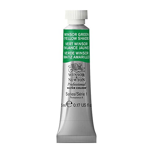 Winsor & Newton Professional Water Colour Paint, 5ml tube, Winsor Green (Yellow Shade) (Shade Winsor Green Yellow)