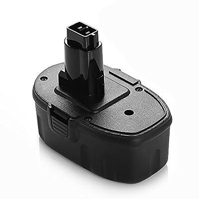Powerextra High Capacity 3000mAh 18V Replacement Battery for Dewalt DC9096 DE9039 DE9095 DE9096 DE9098 DW9095 DW9096 DW9098 DE9503 Dewalt 18V Battery by Powerextra