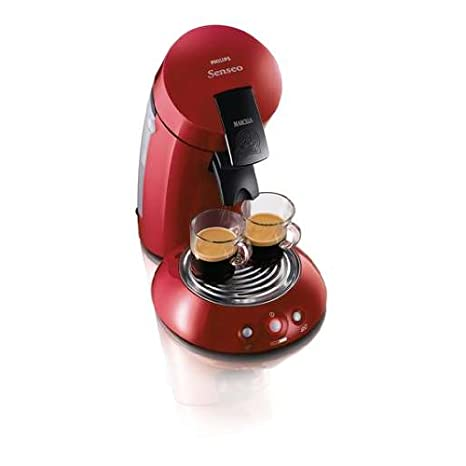 Philips Senseo Original HD7811/92 - Cafetera de monodosis, color rojo