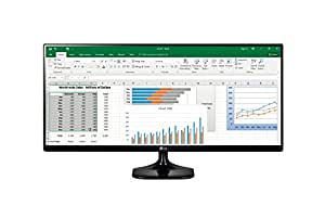 LG 29UM58-P - Monitor UltraWide de 72 cm (29 pulgadas, Full HD, IPS, LED, 2560 x 1080 pixeles, 5 ms, 21:9, 250 cd/m2) Color Negro