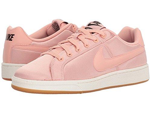 刺繍母性不名誉な[NIKE(ナイキ)] レディーステニスシューズ?スニーカー?靴 Court Royale Satin