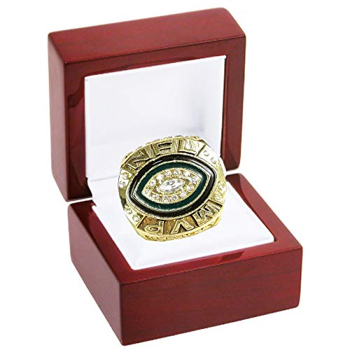 NFL Green Bay Packers (Aaron Rodgers 2014 NFL (League MVP) Replica Gold National Football League Championship - Ring Bay Green Packers